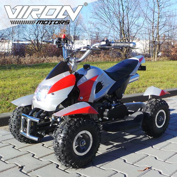 Mini Quad -<br> Electric Start -<br> Child ATV Pocket ...