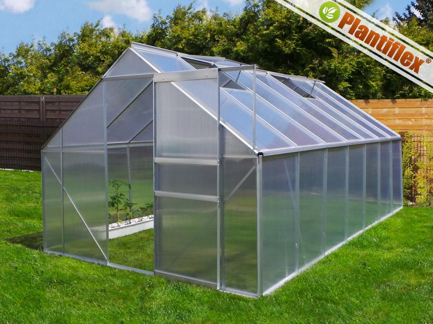 gew chshaus inkl fundament garten aluminium treibhaus tomatenhaus pflanzenhaus ebay. Black Bedroom Furniture Sets. Home Design Ideas