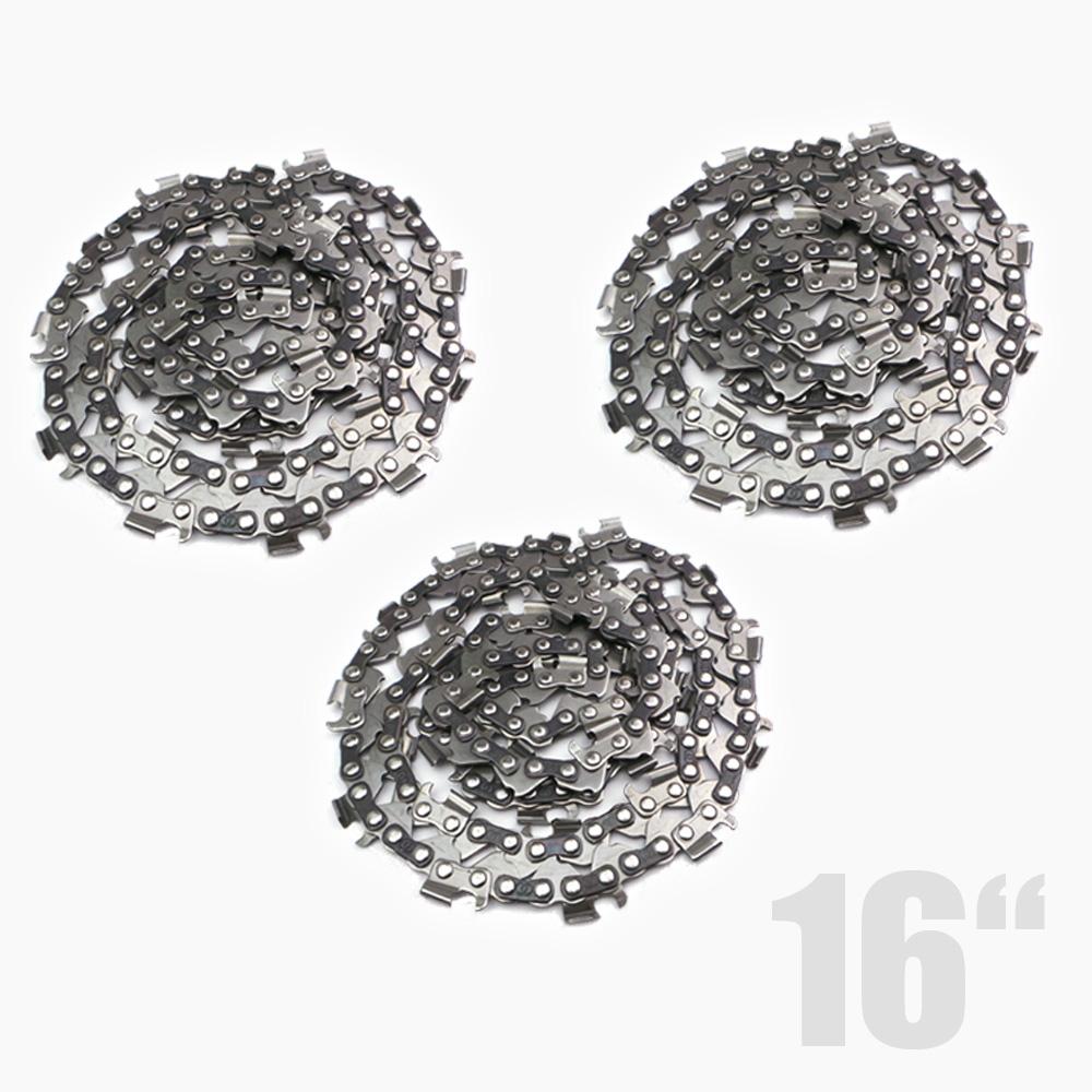 3x s gekette 16 zoll ersatzkette f r motors ge kettens ge kettens gen kette neu ebay. Black Bedroom Furniture Sets. Home Design Ideas