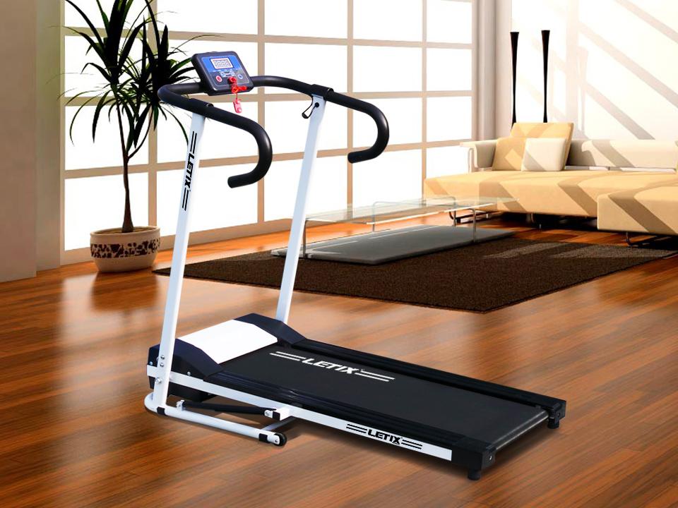motorisiertes laufband mit lcd display elektrisches fitnessger t heimtrainer neu ebay. Black Bedroom Furniture Sets. Home Design Ideas