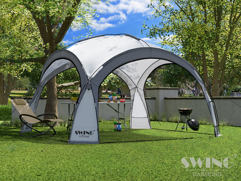 led event pavillon dome evemotion gmbh. Black Bedroom Furniture Sets. Home Design Ideas