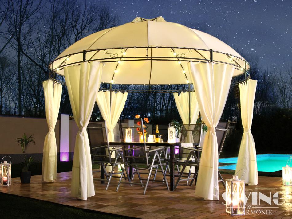 led pavillon 350cm lavo evemotion gmbh. Black Bedroom Furniture Sets. Home Design Ideas