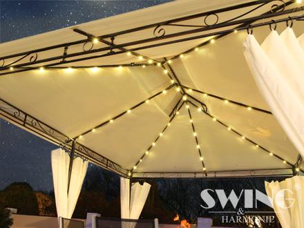 led pavillon 3x4m minzo evemotion gmbh. Black Bedroom Furniture Sets. Home Design Ideas