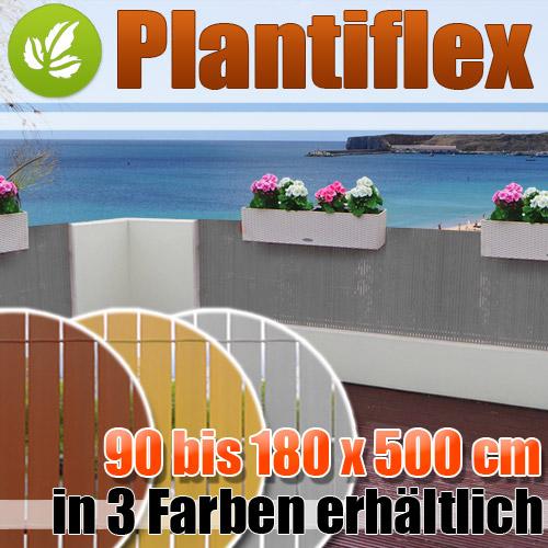 PVC-Sichtschutz-Matte-Sichtschutzzaun-fuer-Balkon-Terrasse-Rolle-Windschutz-Zaun